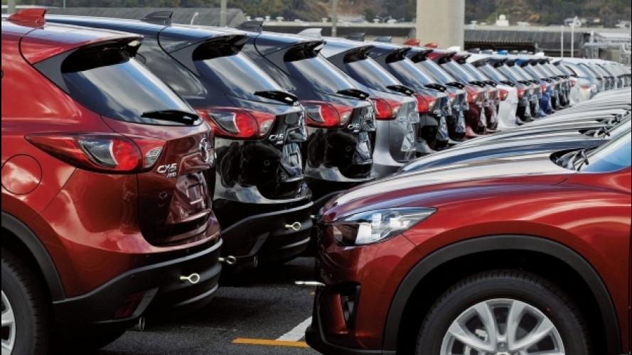 Vendite auto in Italia, nel 2017 previste 2 mln di immatricolazioni