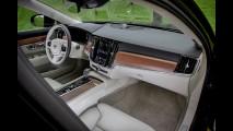 Volvo V90, la prova delle doti stradali 019
