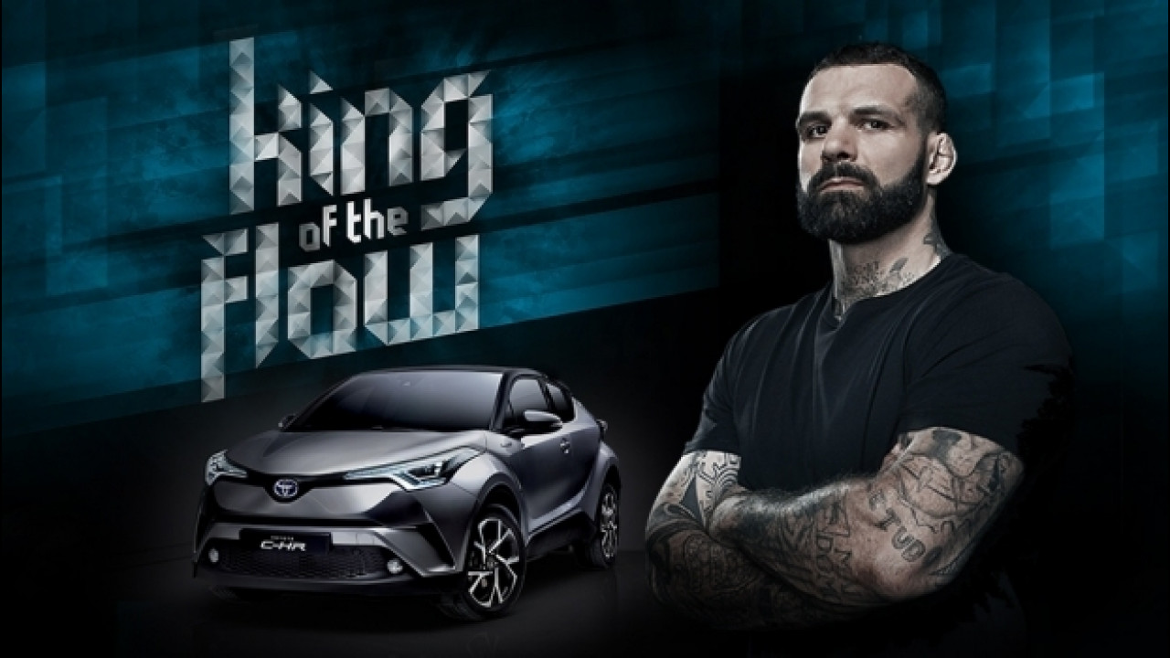 "[Copertina] - Toyota C-HR ha il suo ""Re"": Alessio Sakara"