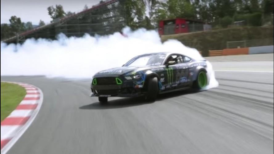Ford Mustang RTR, il drift è il suo mestiere [VIDEO]