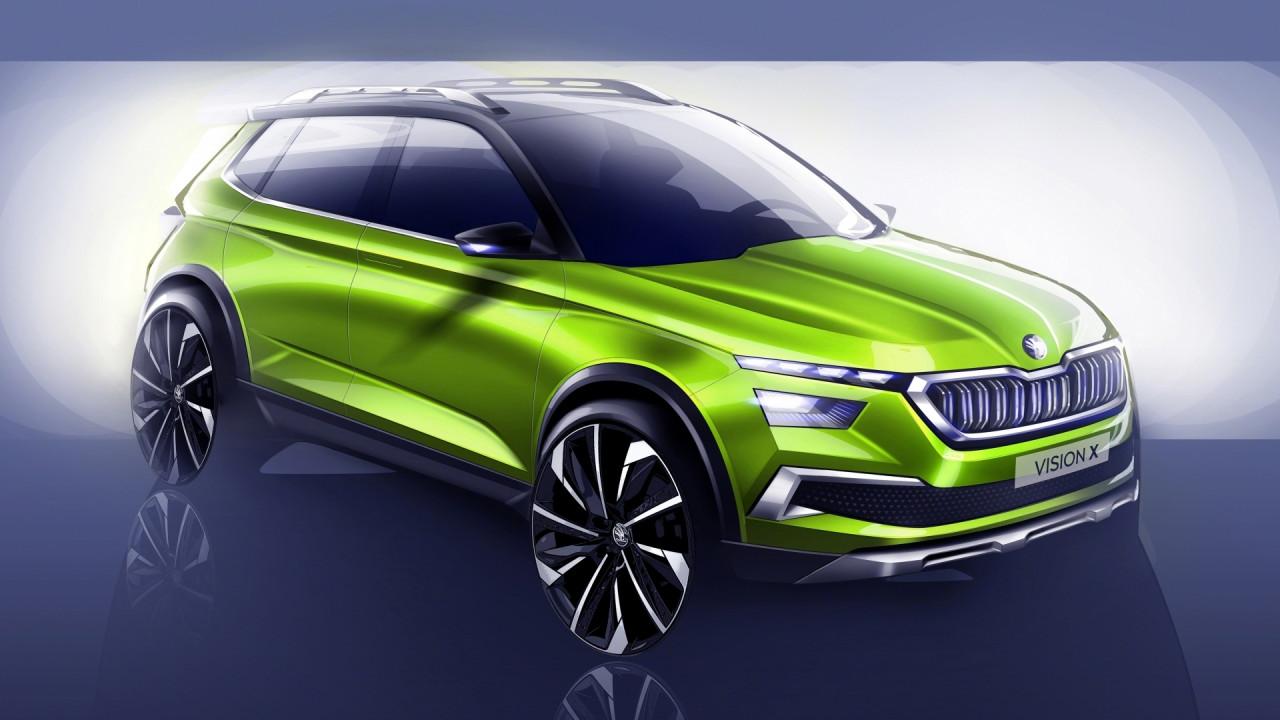 [Copertina] - Skoda Vision X Concept, il crossover ibrido a Ginevra