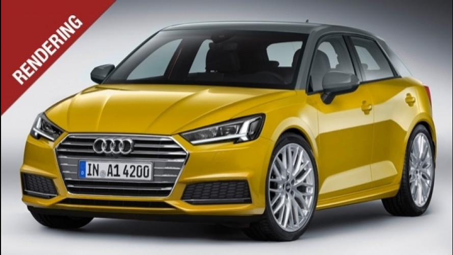 Nuova Audi A1, spalle da SUV