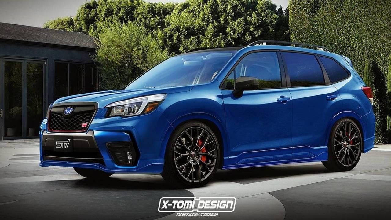 Subaru Forester STI Render'ı