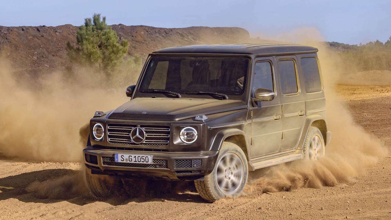 Mercedes G-Klasse: Exklusiv Interieur Plus