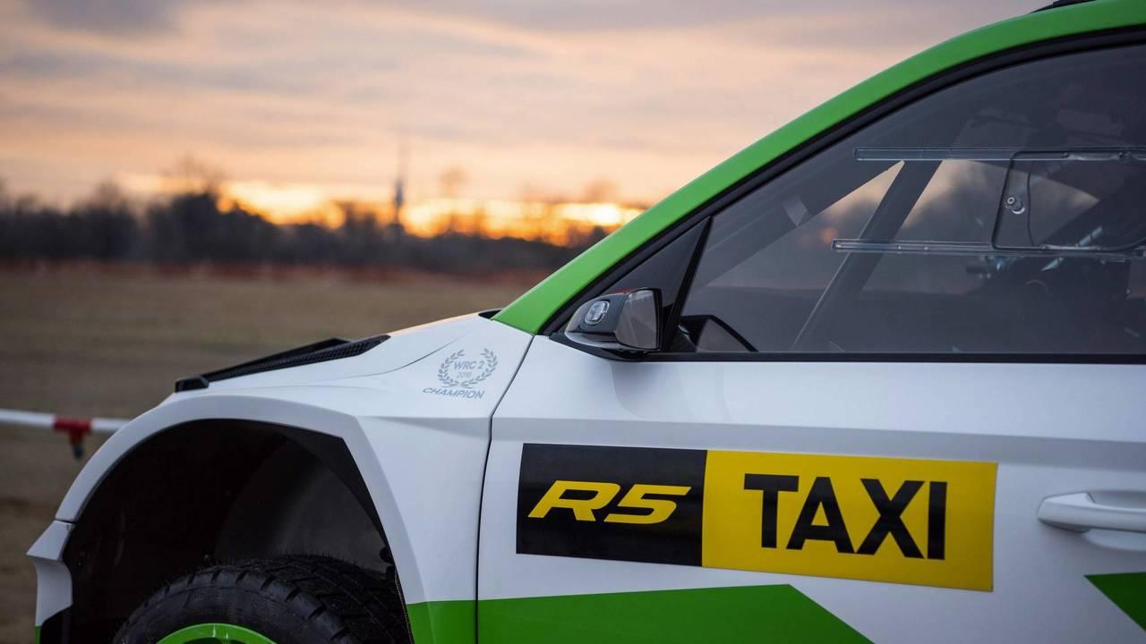 Skoda Fabia R5 taksi