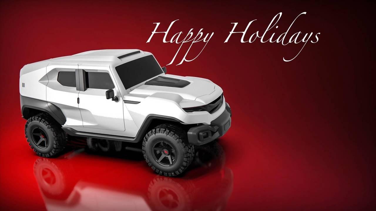 Rezvani Motors karácsonyi üdvözlet