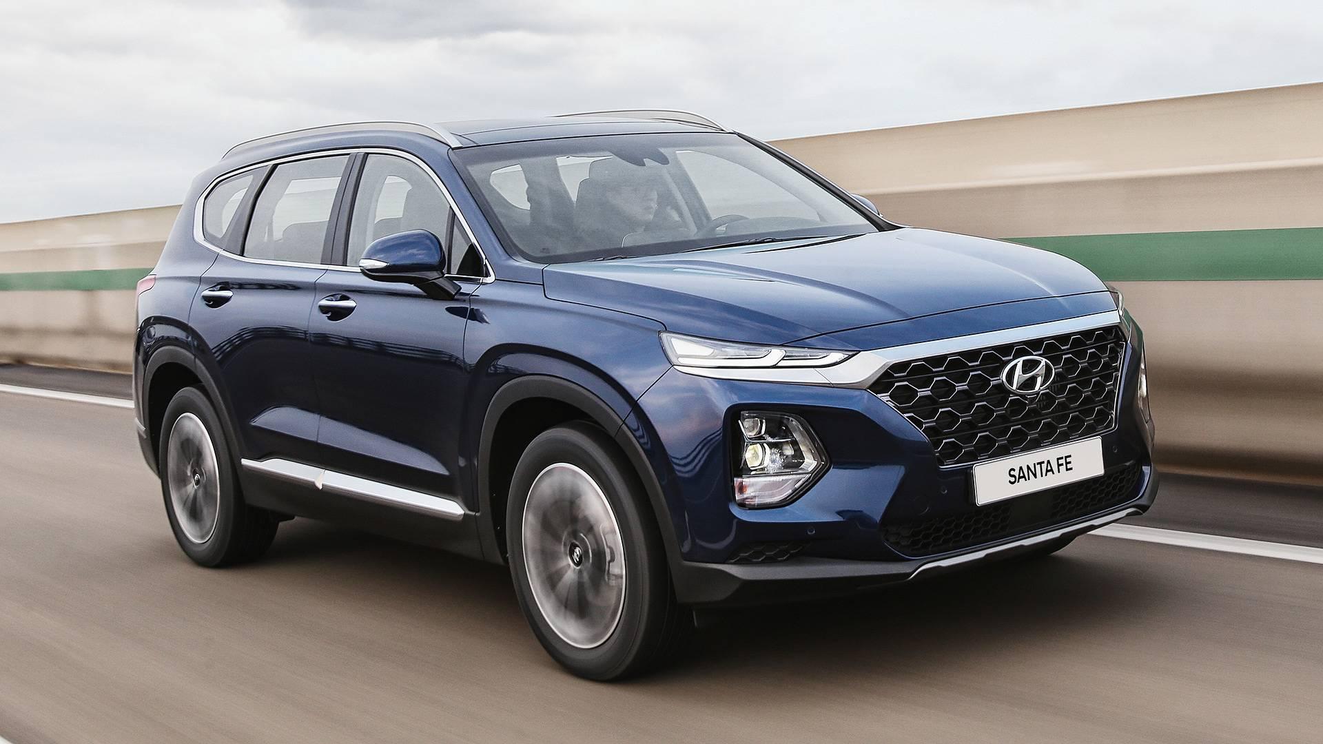 2019 Hyundai Santa Fe First Drive Reshaped Resized Revitalized