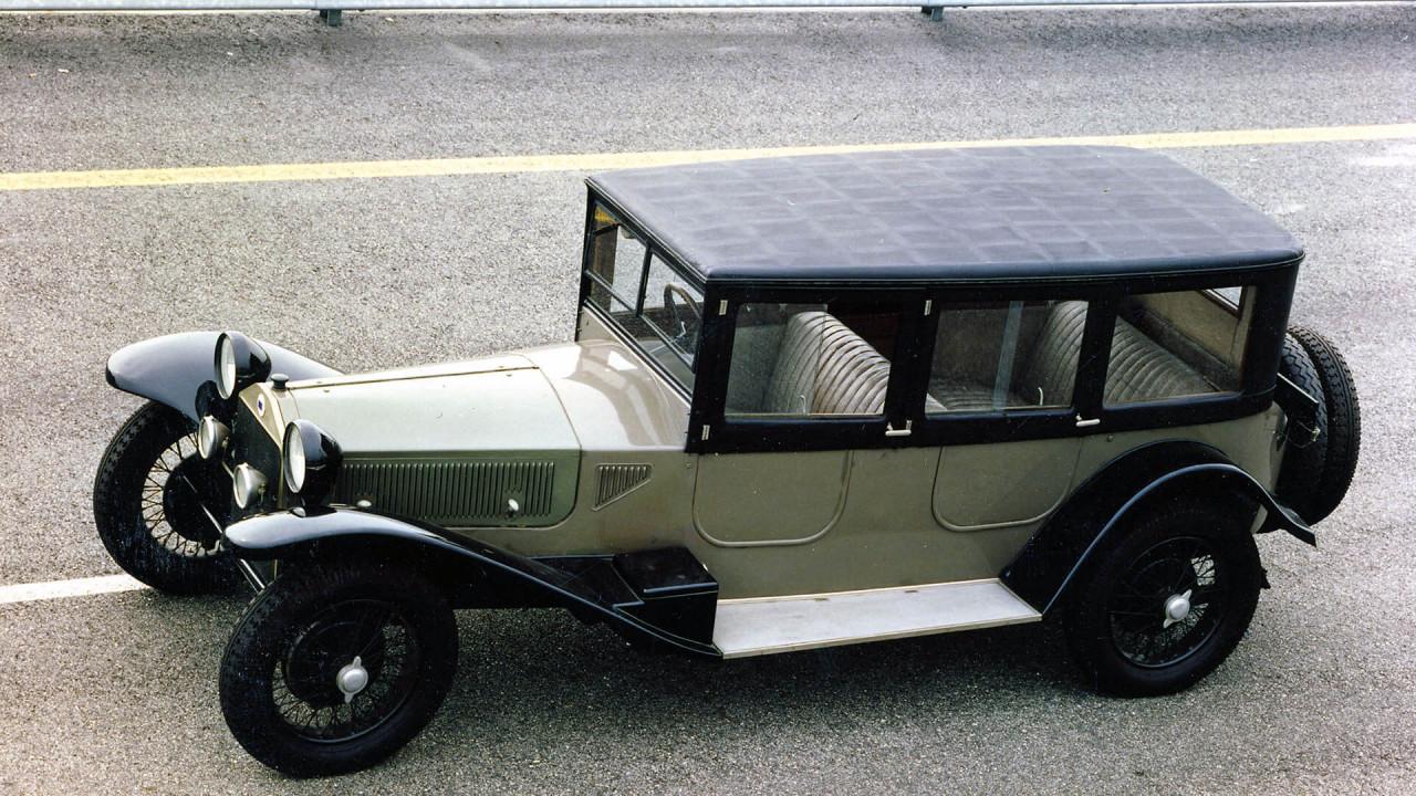 Lancia Lambda (1922): erste selbsttragende Karosserie