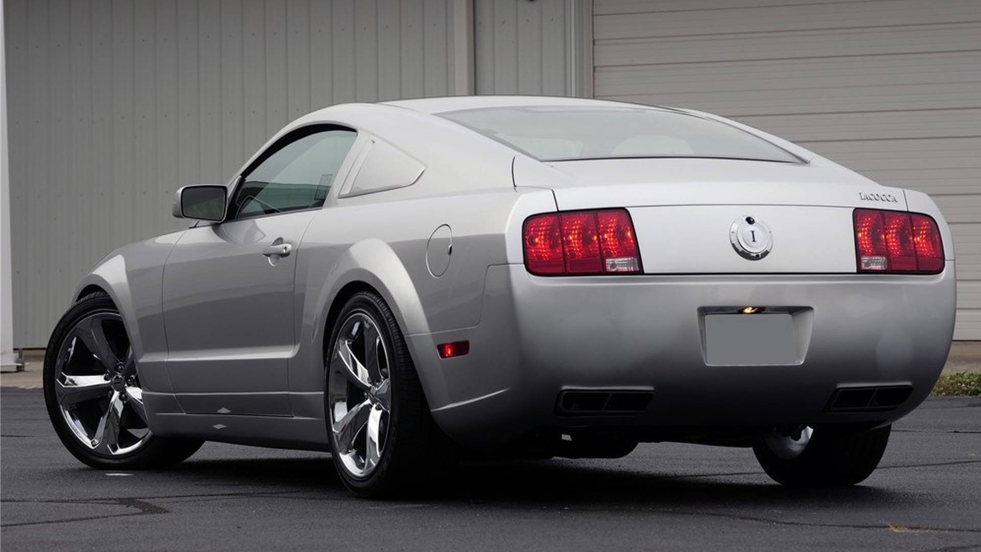 Lee Iacocca Mustang >> Limited Edition Ford Mustang Iacocca To Cross The Auction Block