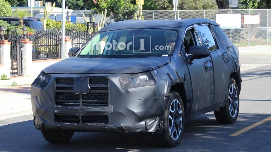 Next-Gen Toyota Rav4 Spy Shots