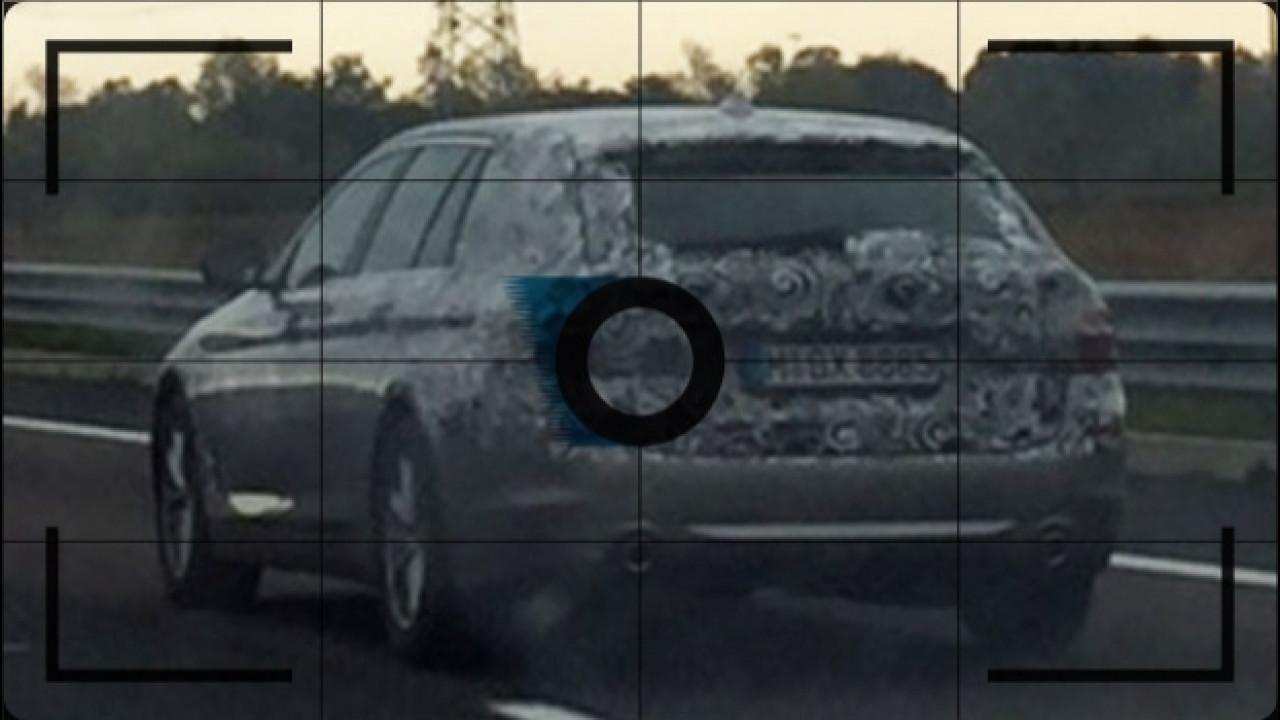 [Copertina] - Nuova BMW Serie 5 Touring, altre foto spia della familiare