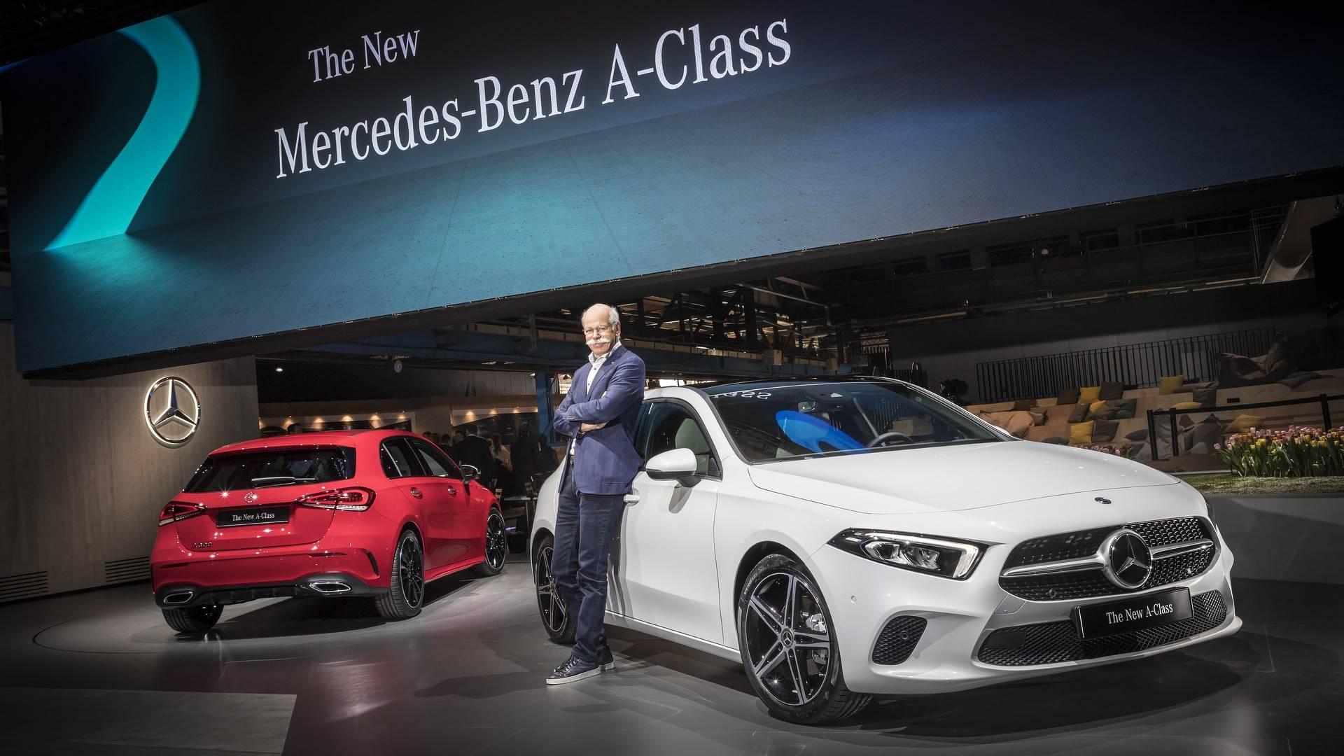 Mercedes Benz Reveals New A Class As High Tech Tour De Force