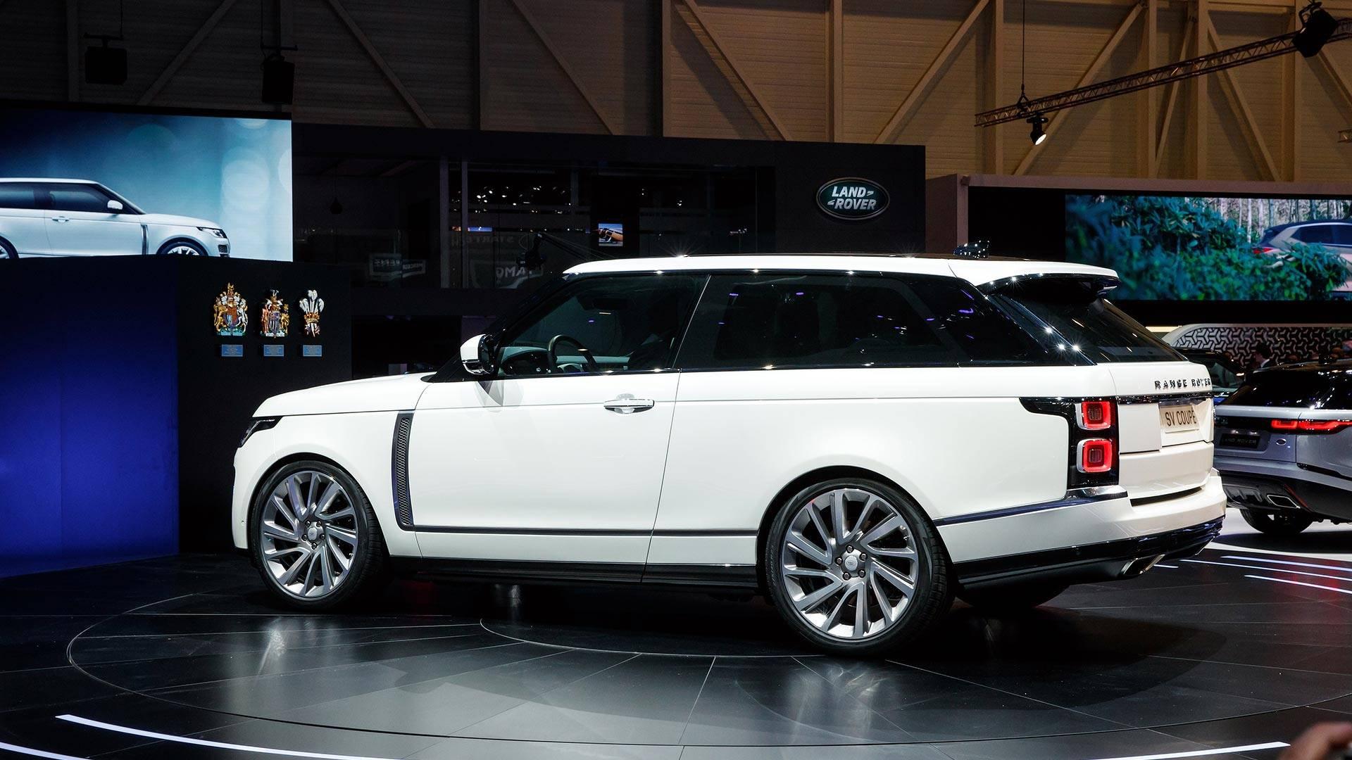 "[""Land Rover Range Rover SV Coupe: Geneva 2018""]"