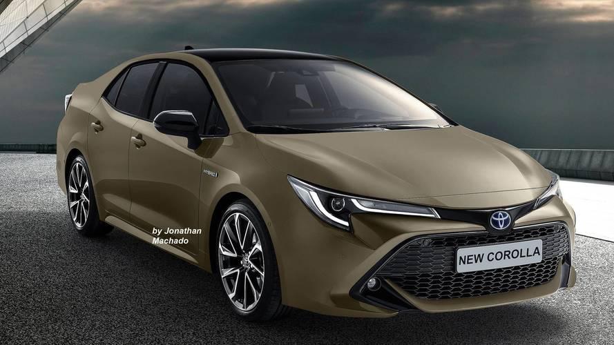 Designer imagina novo Corolla 2020 com base no Toyota Auris