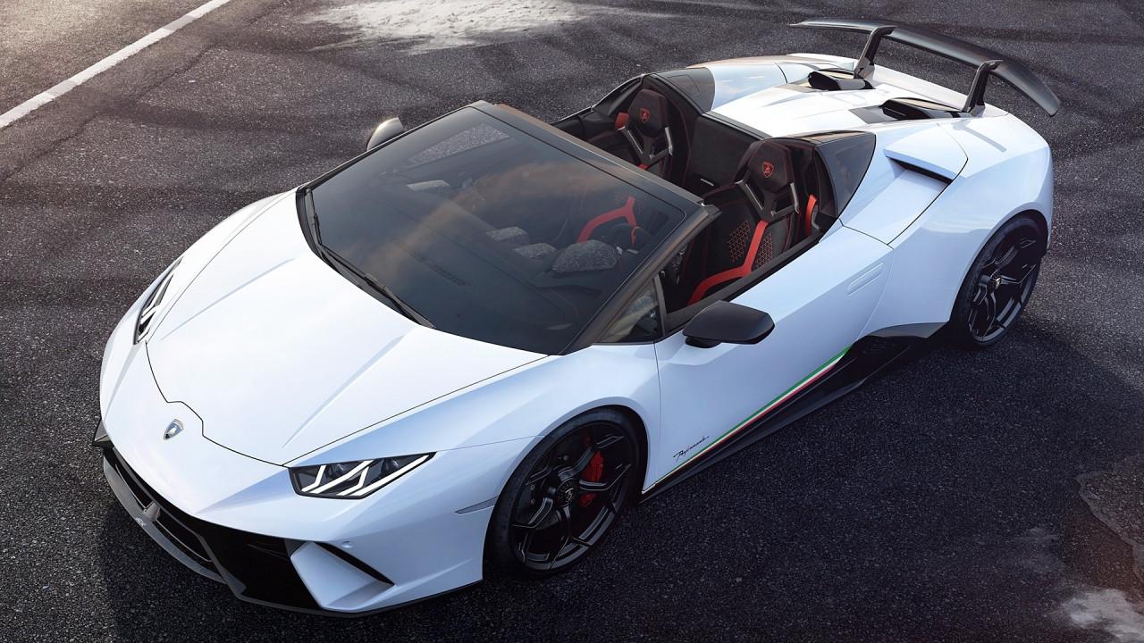 [Copertina] - Lamborghini Huracán Performante Spyder, velocissima anche senza il tetto