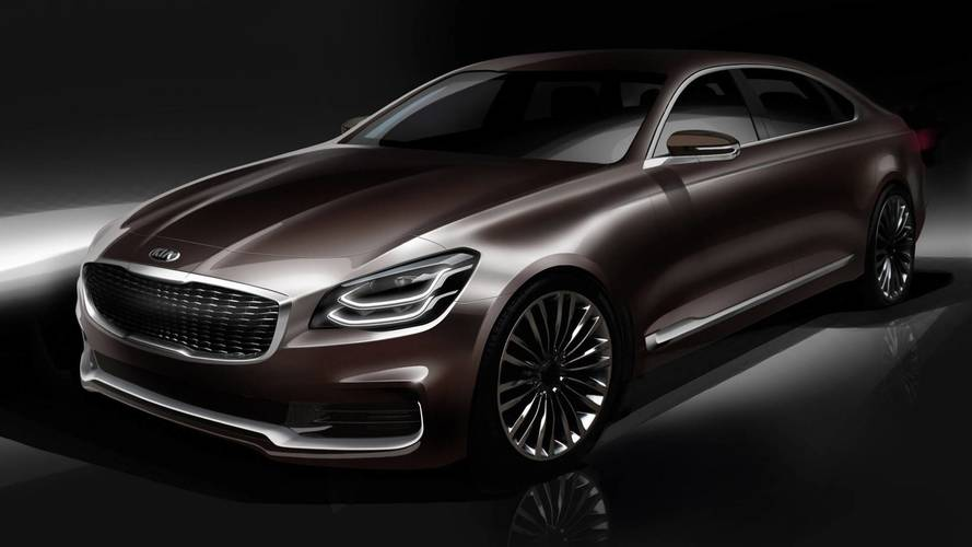 Kia K900 Sketch Renders