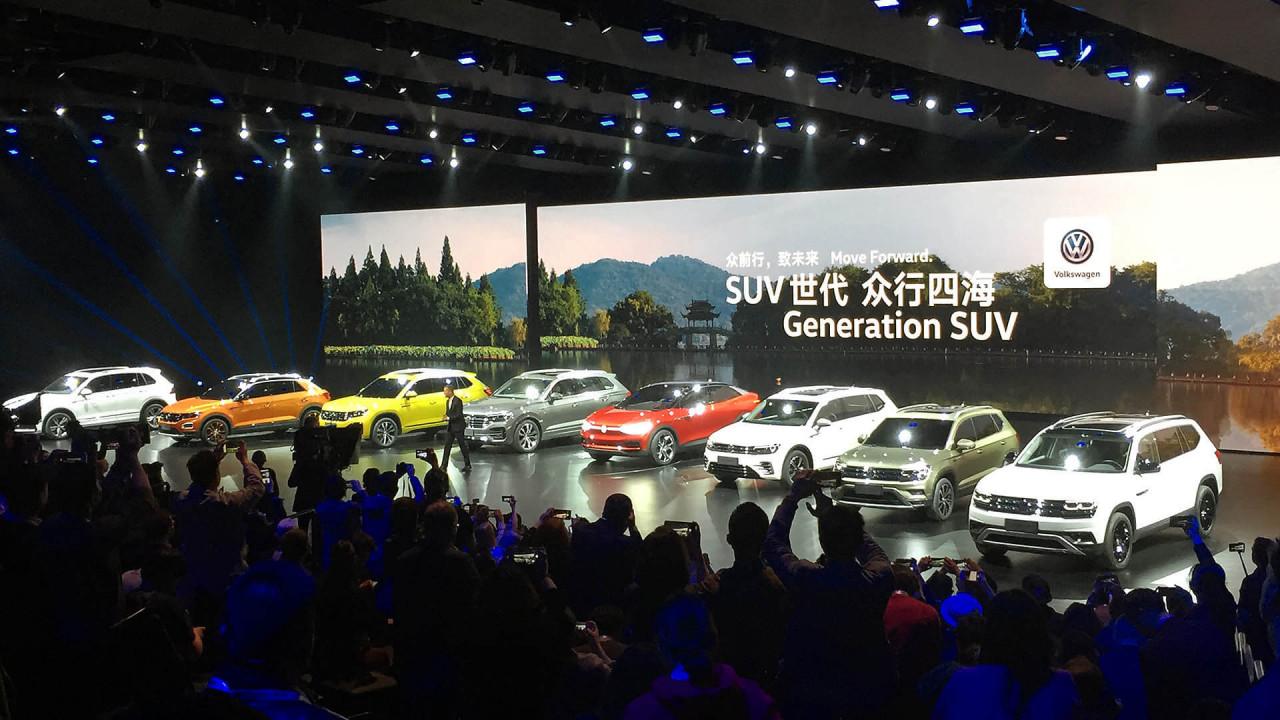 Bis 2020 zwölf neue SUVs in China