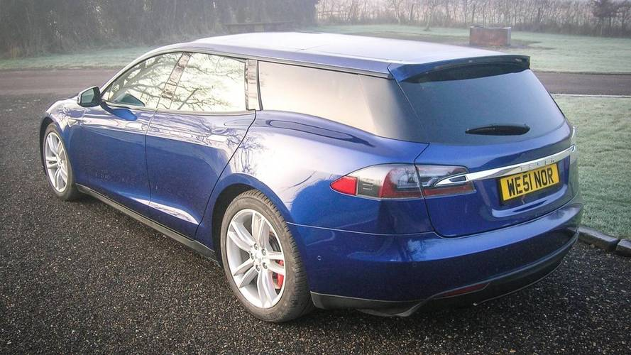 Qwest a terminé son break Tesla Model S