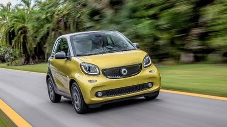 Smart Forfour Electric Drive Facelift Spied For The First Time