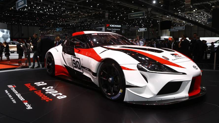 Toyota GR Supra Racing Concept Marks The Return Of Fabled Name