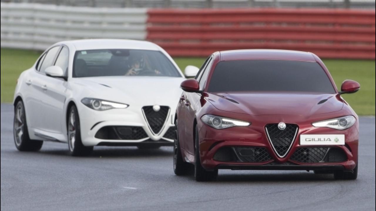 [Copertina] - Alfa Romeo Giulia Quadrifoglio, nuovo record