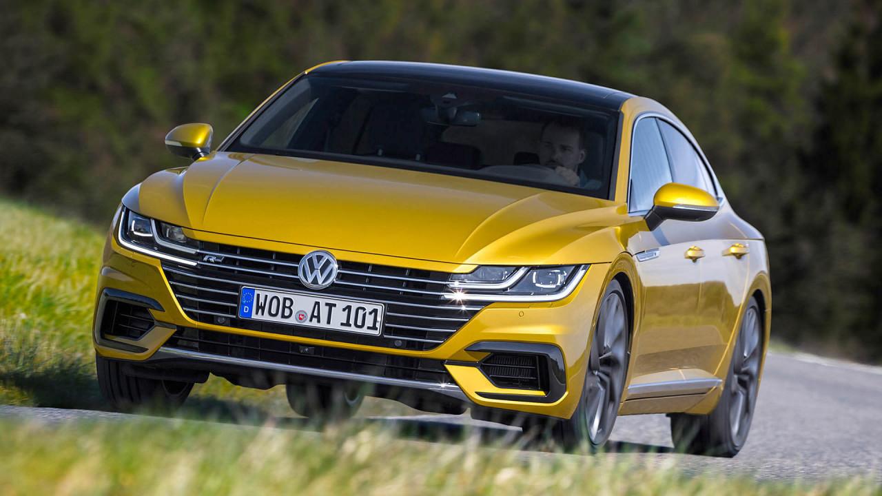 VW Arteon: 4,86 Meter