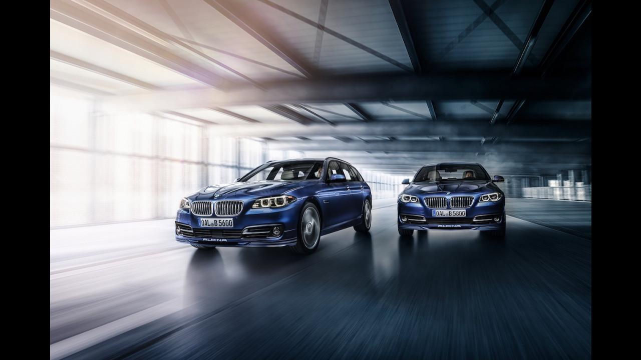 BMW Serie 5, le foto storiche