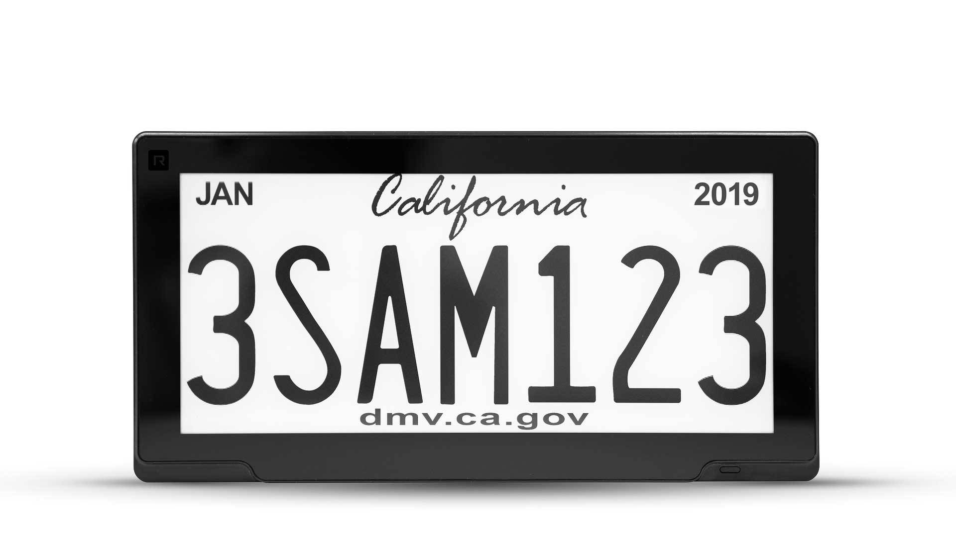 First Digital Connected License Plates Launching In California