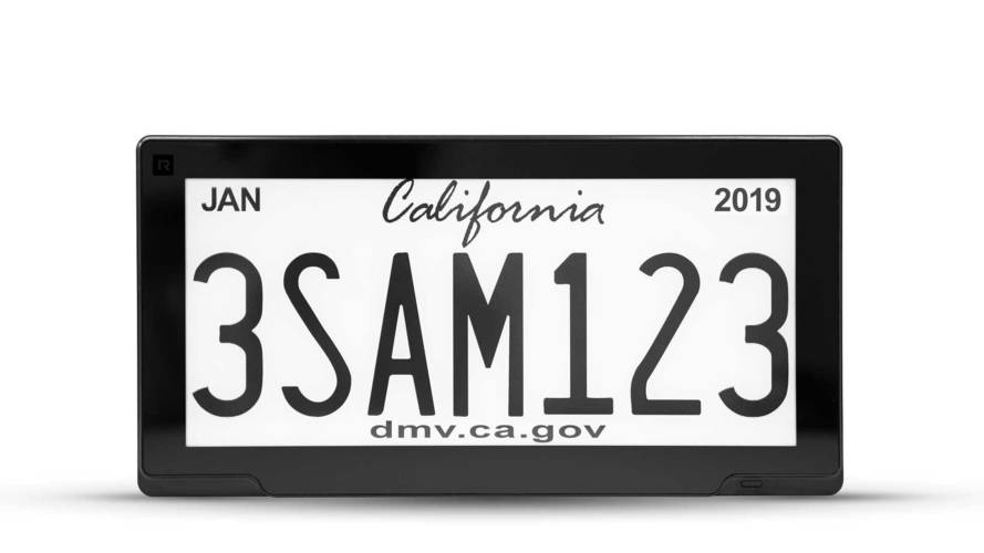 RPlate Pro Digital License Plate