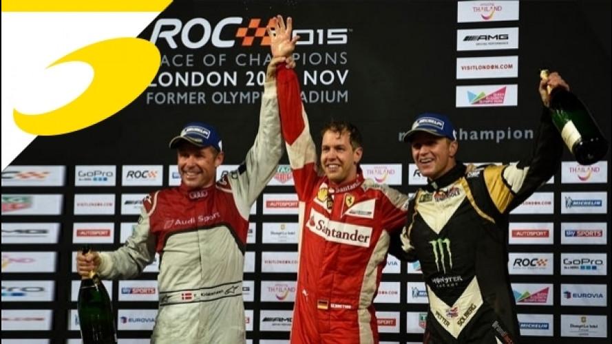 Motorsport.com sarà partner della Race of Champions 2017