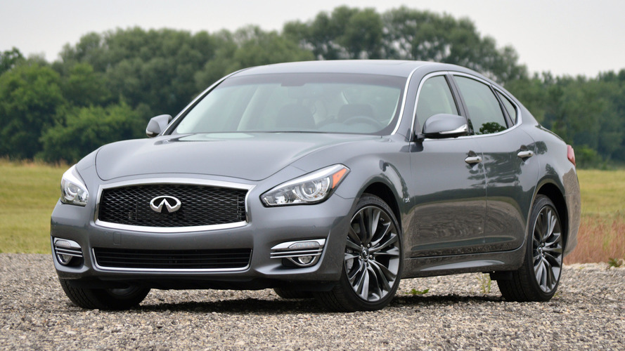 Infiniti Q70 To Retire From U.S. Market After The 2019 Model Year