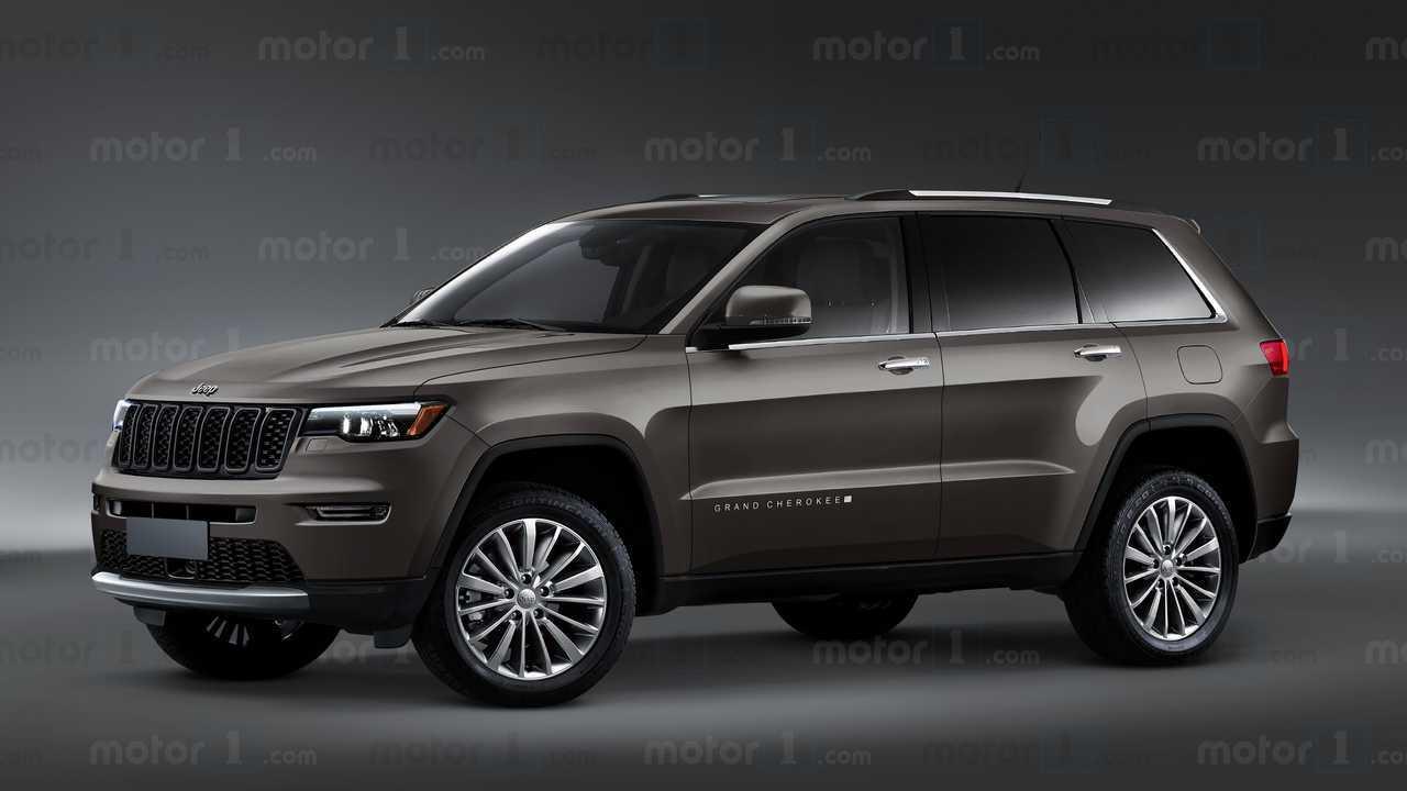 Projeção Jeep Grand Cherokee 2022