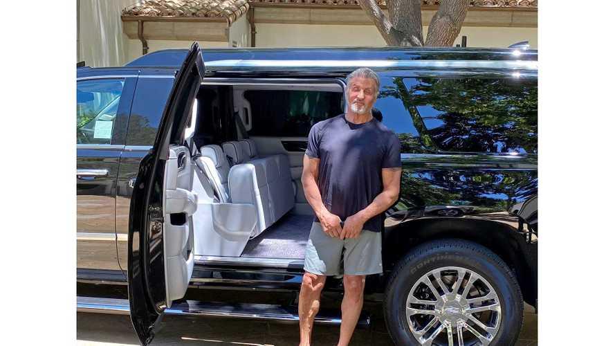 El Cadillac Escalade ESV de Sylvester Stallone está a la venta