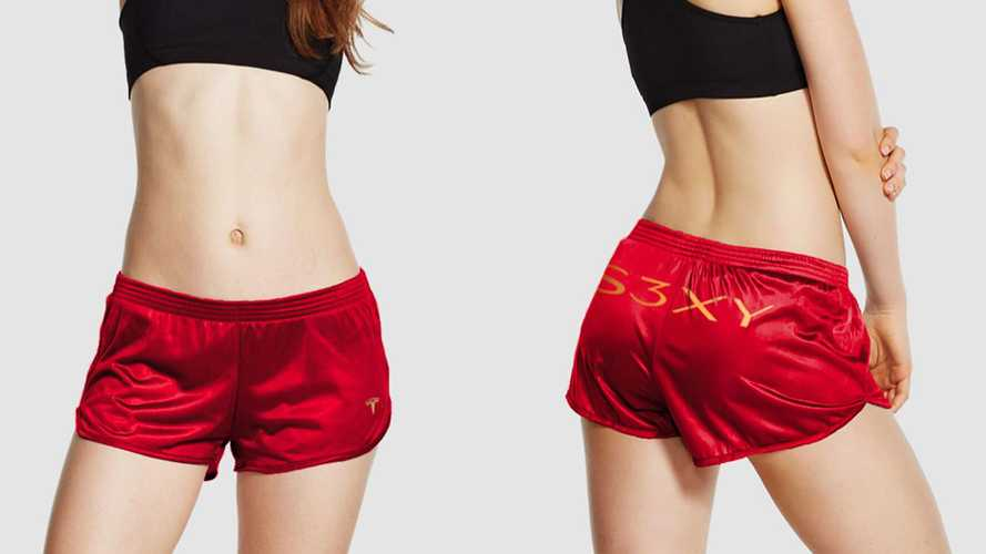 Want Some S3XY Branded Tesla Short Shorts? Sorry, They're Sold Out