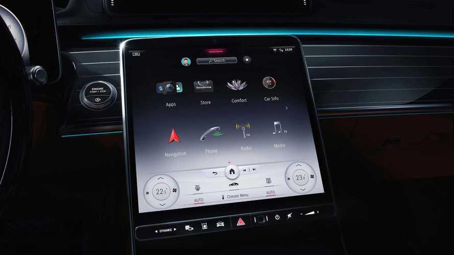 Mercedes S-Klasse (2021): Jetzt ist der Innenraum offiziell