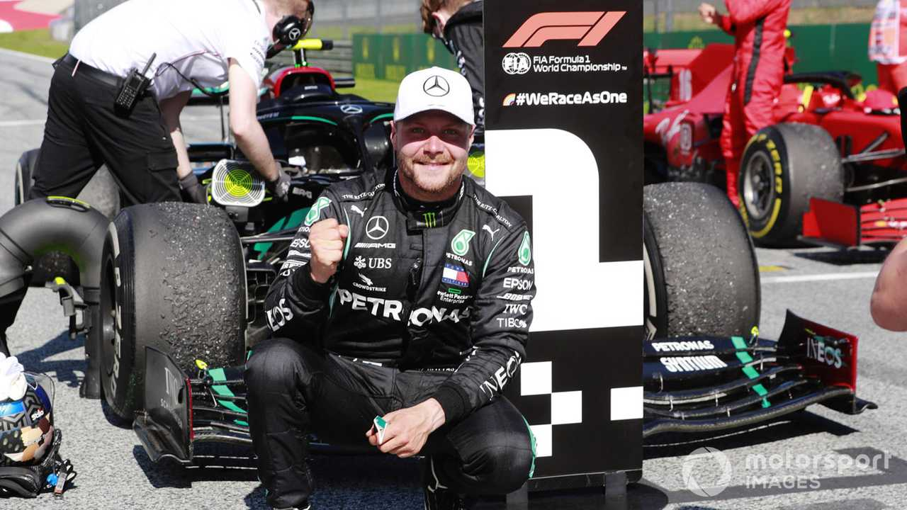 Valtteri Bottas winner of Austrian GP 2020