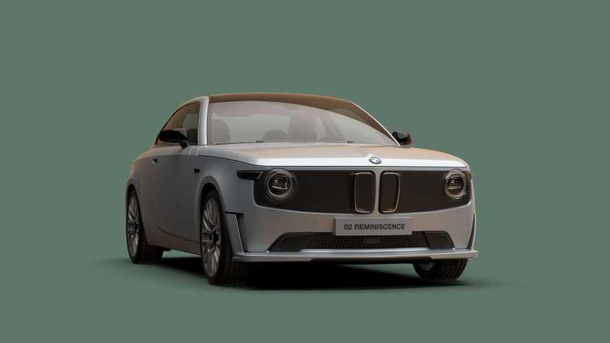 BMW 02 Reminiscence Concept: Retro-Hommage unter Strom