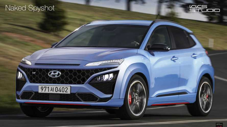 Hyundai Kona N rendering previews a taste of what's to come