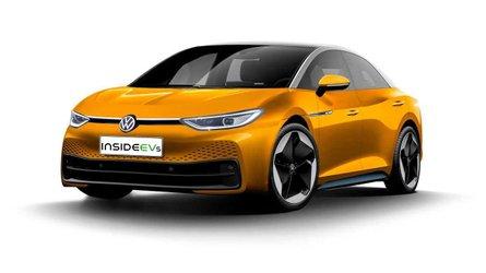 This Rendering Previews Possible VW ID.5 Electric Sedan Due In 2022