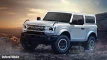 2021 Ford Bronco 2-Door Renderings
