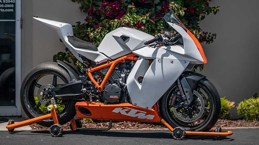 Own One Of The Only Race-Spec KTM 1190 RC8 R Produced For The U.S.
