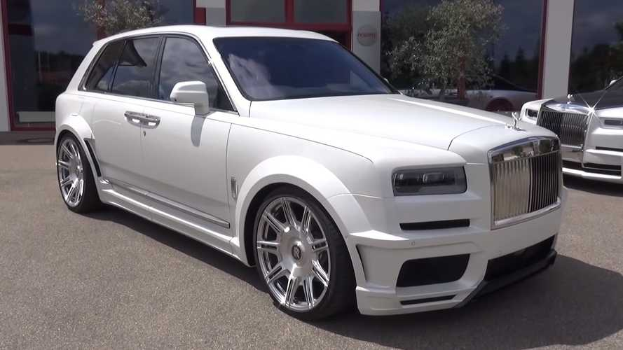 See why this Rolls-Royce Cullinan Overdose has the right name