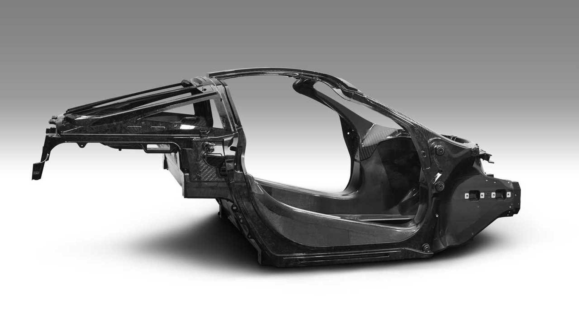 McLaren 765LT monocoque