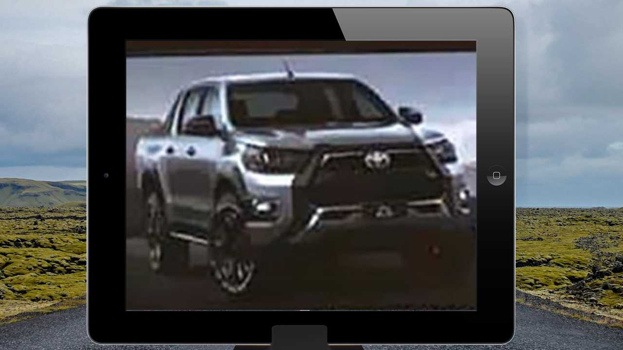 Toyota Hilux 2021 - Imagem vazada