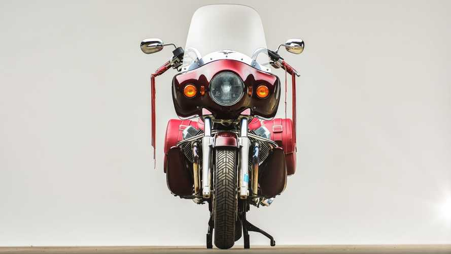 Special Edition Moto Guzzi California Up For Sale