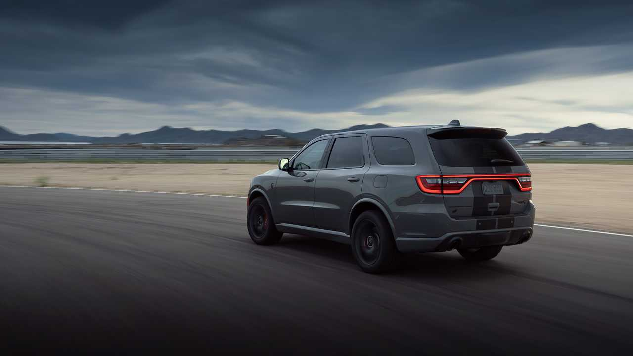 2021 dodge durango srt hellcat debuts as world's most