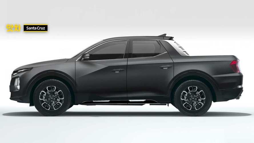 Hyundai Santa Cruz - Nova projeção