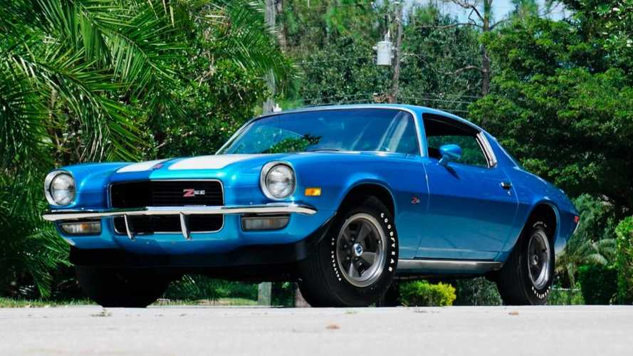 Chevrolet Camaro Z28 collection goes up for auction