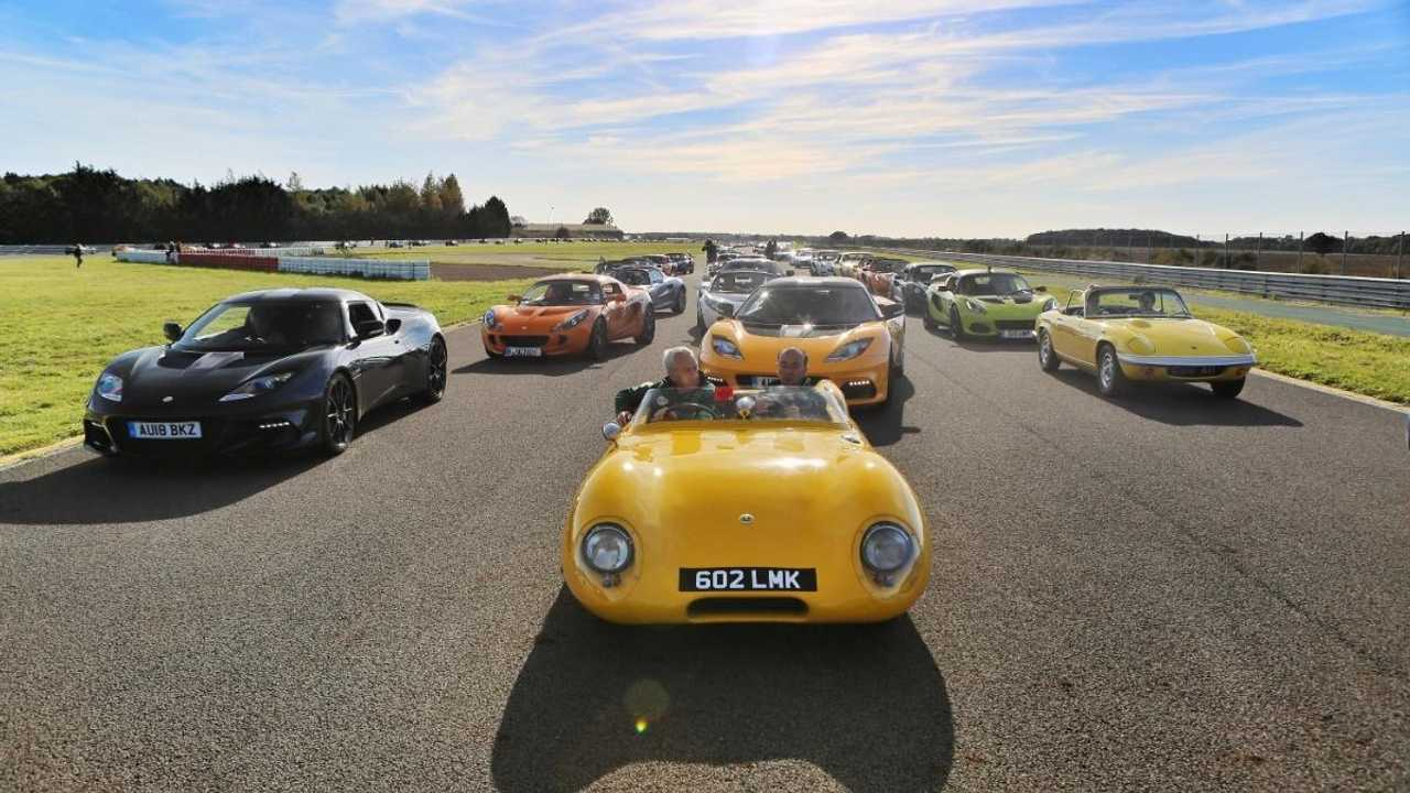 Lotus marks 70th anniversary with largest ever gathering