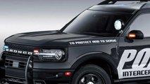 Ford Bronco Sport Police Interceptor Renderings